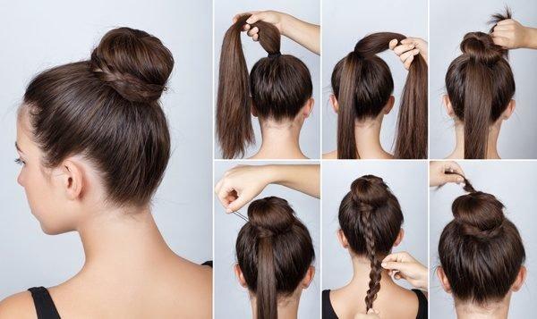 Imagenes de peinados faciles con pasos
