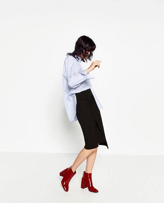 rebajas-zara-moda-falda-tubo