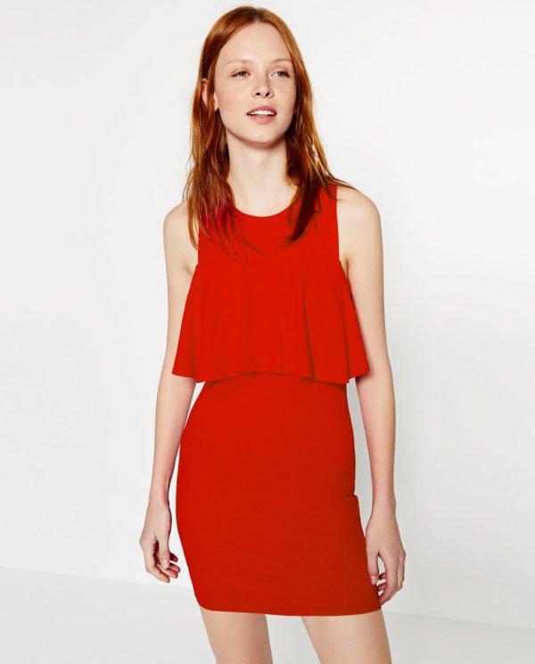 rebajas-zara-vestido-rojo