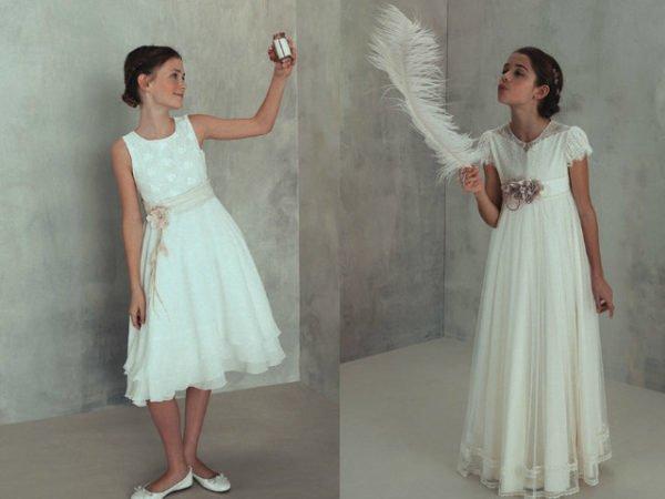 vestidos de primera comunion nina modernos
