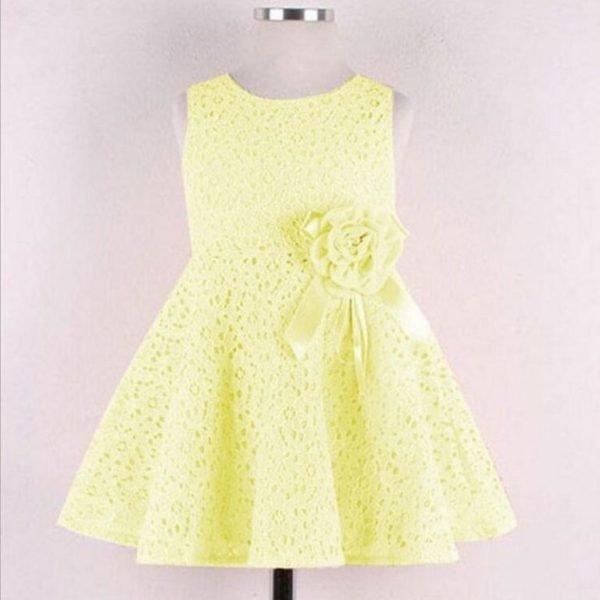 vestidos-de-fiesta-de-niña-otoño-invierno-2017-amarillo-pastel