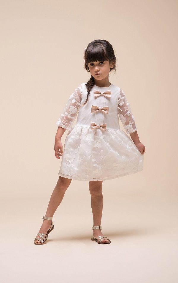 3a47910a6 Vestidos de fiesta de niña Primavera Verano 2019 - Tendenzias.com