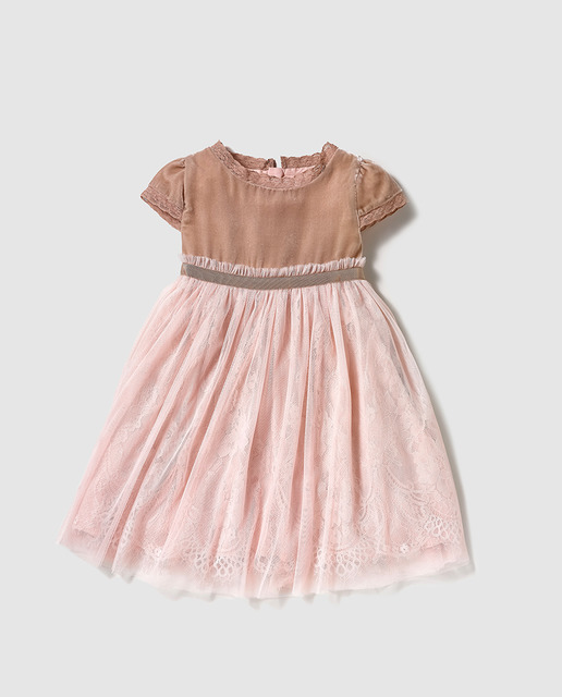 vestidos-de-fiesta-de-niña-otoño-invierno-2017-tul-rosa-palo