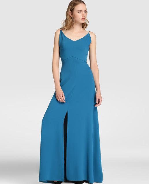vestidos-de-fiesta-largos-otoño-invierno-2017-azul