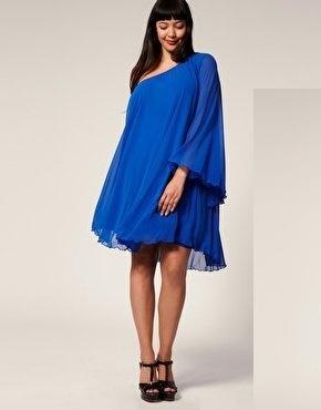 vestidos-de-fiesta-para-gorditas-otoño-invierno-2017-azul