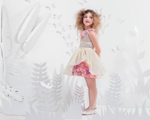 Vestidos de fiesta para nina en flores