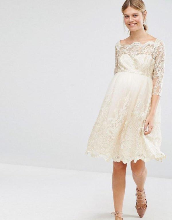 vestidos-de-fiesta-premama-otoño-invierno-2017-romantico