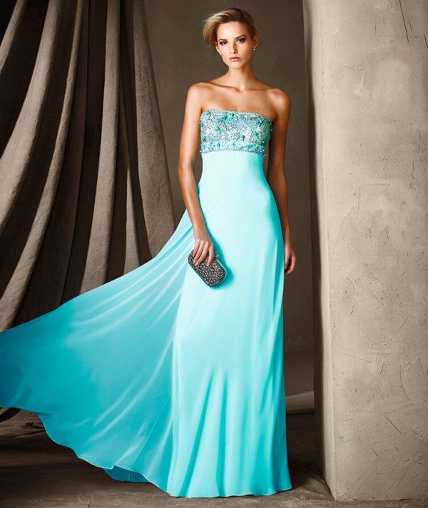 vestidos-de-fiesta-pronovias-celeste-aguamarina