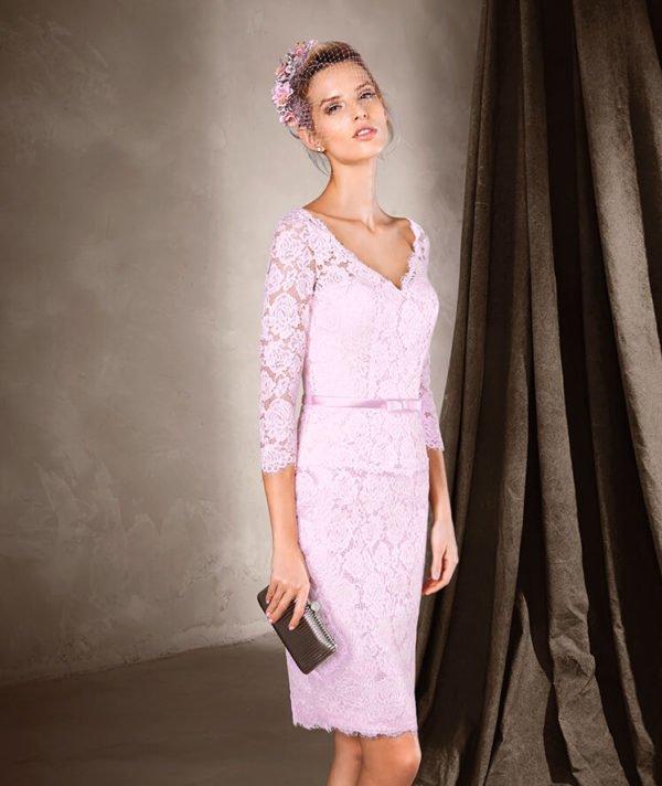 vestidos-de-fiesta-pronovias-madrina-rosa