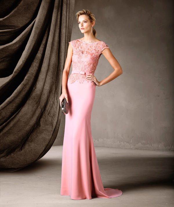 vestidos-de-fiesta-pronovias-rosa-palo