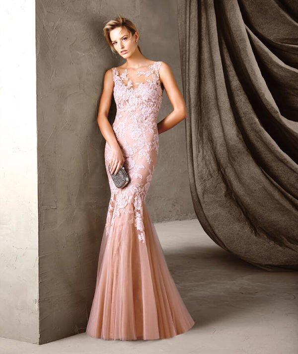 vestidos-de-fiesta-pronovias-rosa-sirena