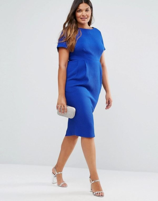 vestidos-de-fiesta-tallas-grandes-otoño-invierno-2017-azul