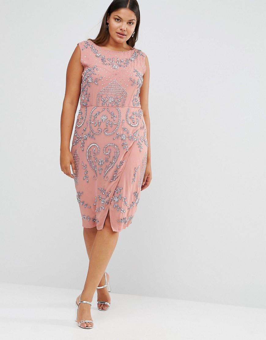 f6049ec048c Vestidos de fiesta tallas grandes Primavera Verano 2019 - Tendenzias.com