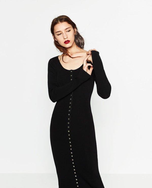 vestidos-de-fiesta-zara-otono-invierno-2017-cenido