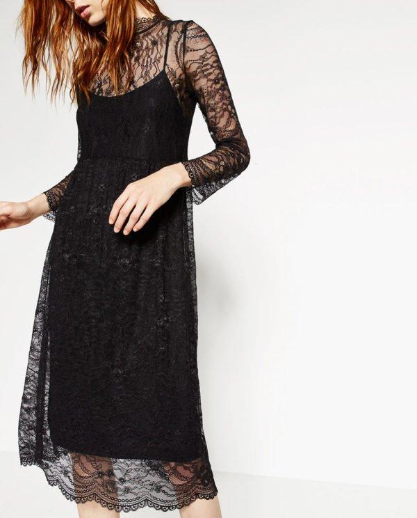Los Vestidos De Fiesta Zara Invierno 2021 Tendenzias Com