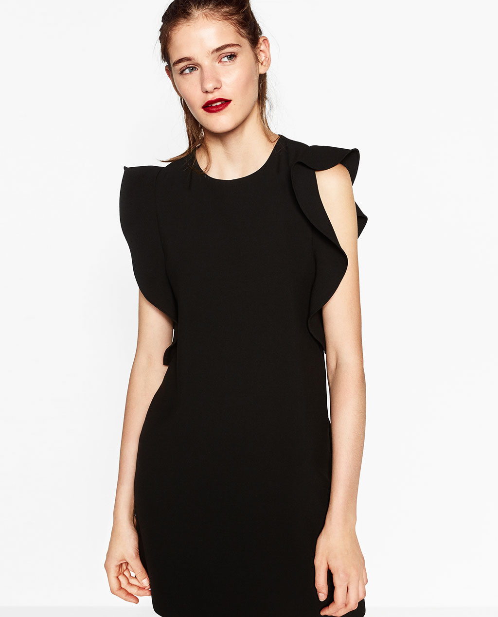 Vestidos negro de zara