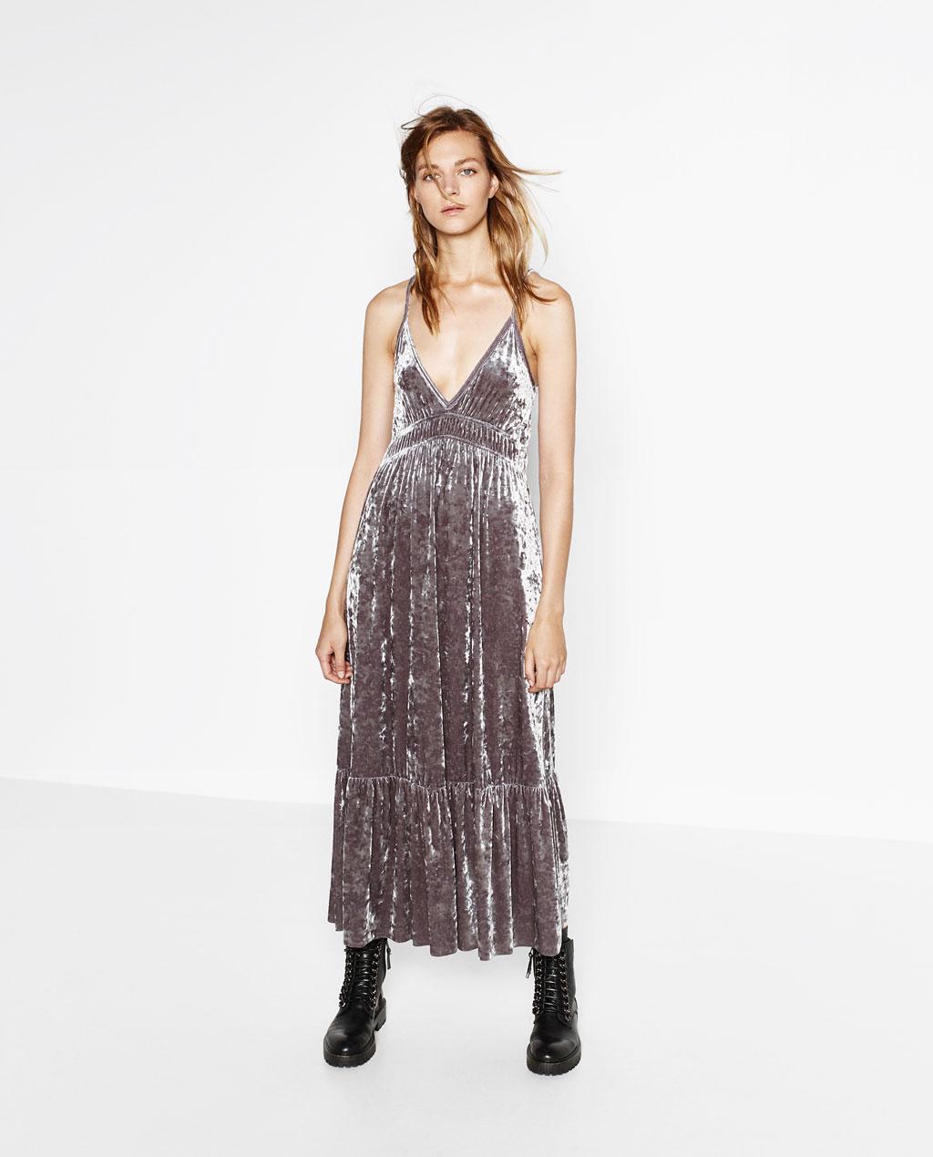 Zara vestidos largos fiesta 2019