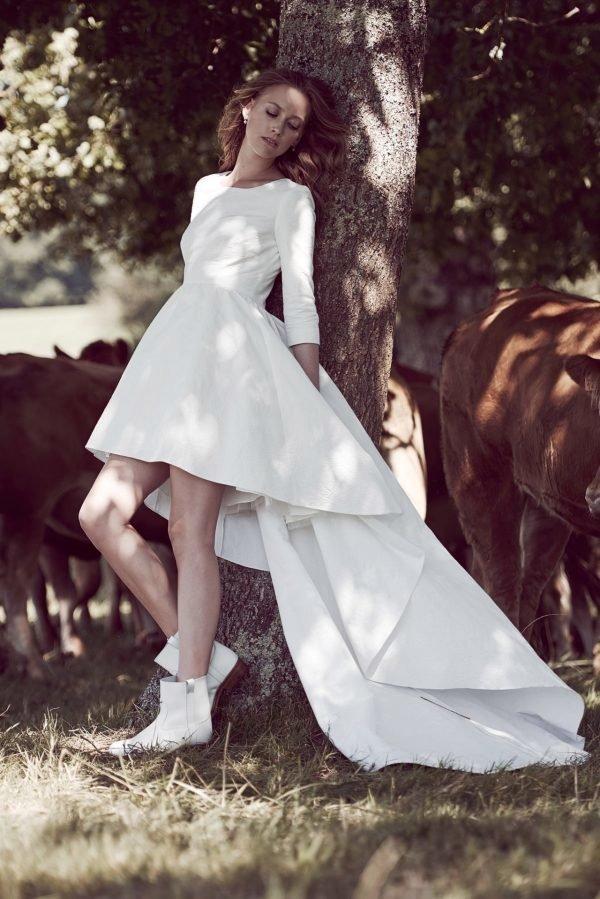 23bdadf34 Vestidos de novia boda civil Primavera Verano 2019 - Tendenzias.com