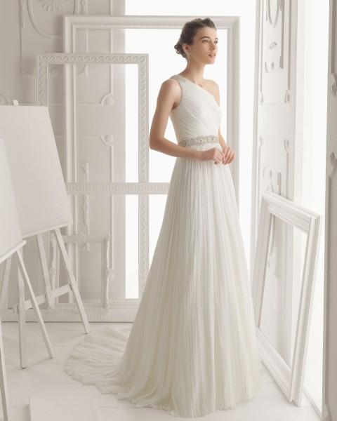Vestido de novia para boda de civil