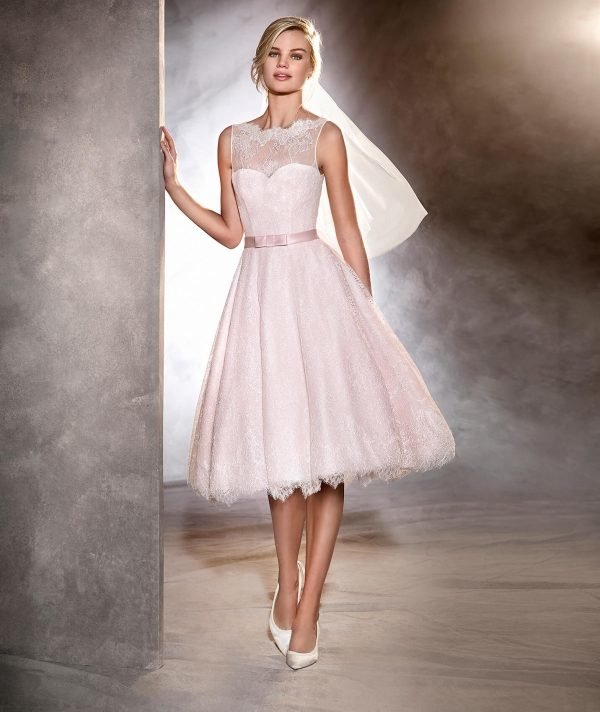vestidos-de-novia-boda-civil-otoño-invierno-2017-rosa