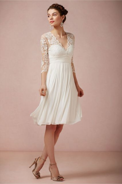 Vestidos para novia en civil