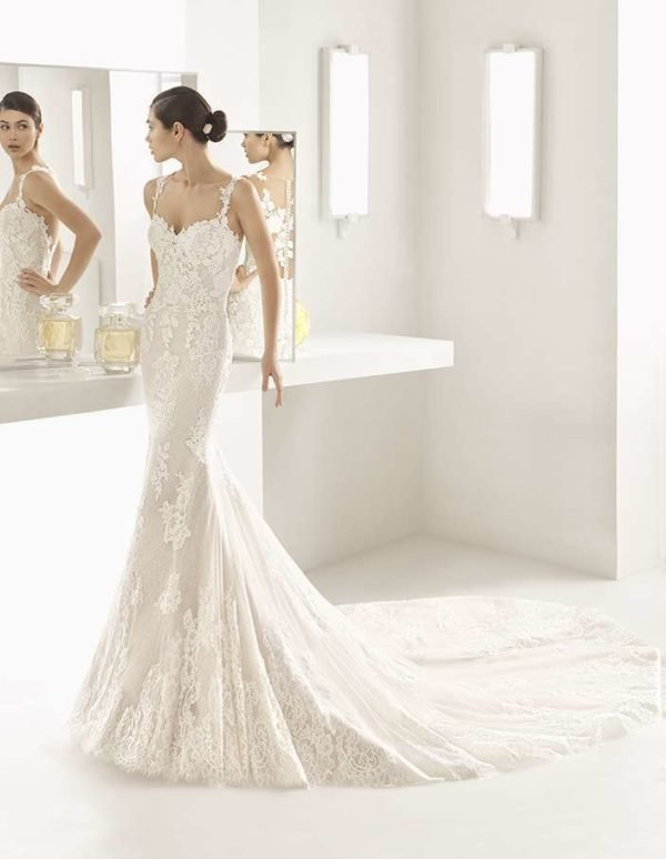 Vestidos de novia corte sirena 2018 - 2019 - Tendenzias.com