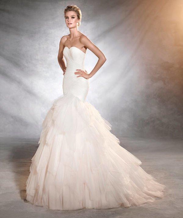Vestidos de novia corte sirena 2019 - Tendenzias.com
