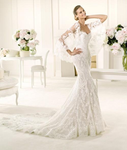 Vestidos de novia corte sirena Primavera Verano 2018 - Tendenzias.com