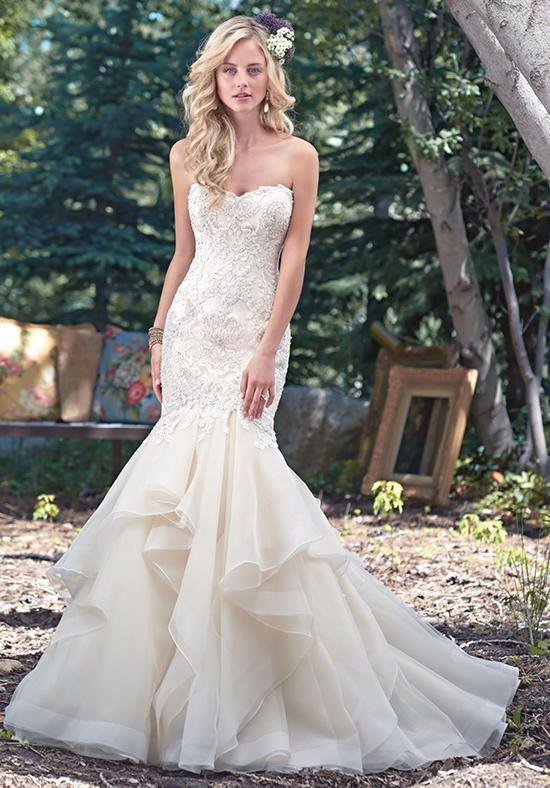 vestidos de novia corte sirena primavera verano 2019 - tendenzias