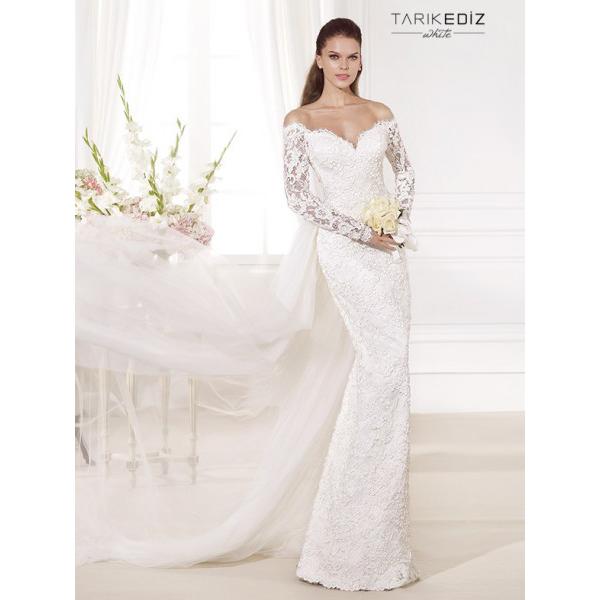 Vestidos de novia manga larga boda civil