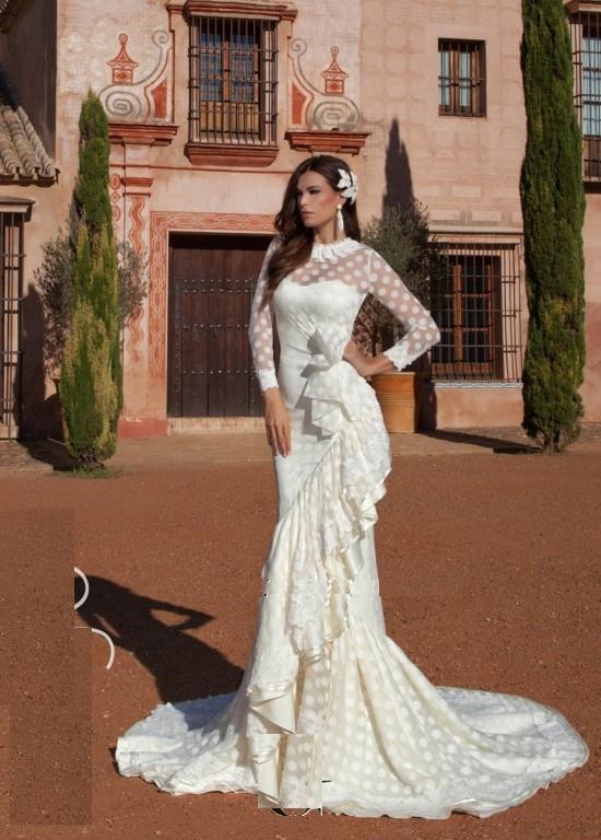 vestidos-de-novia-flamencos-otoño-invierno-2017-vintage