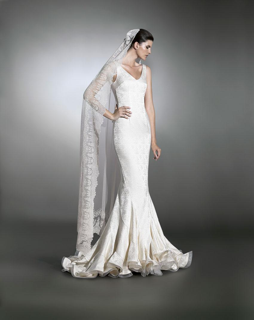 Vestidos de novia gitana madrid