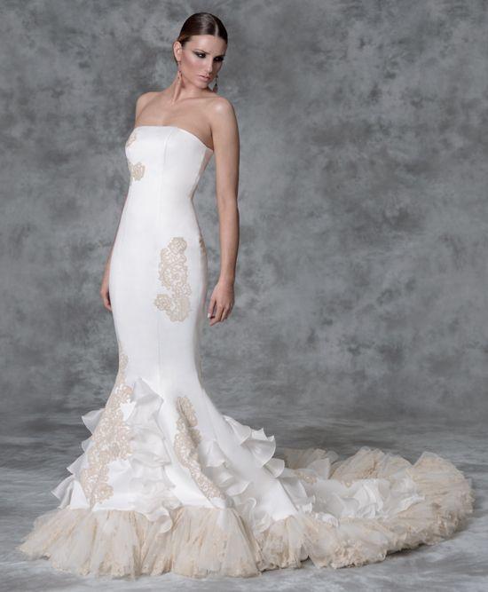 vestidos de novia flamencos primavera verano 2019 - tendenzias