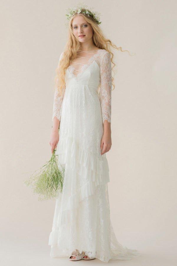 Vestidos novias hippie chic