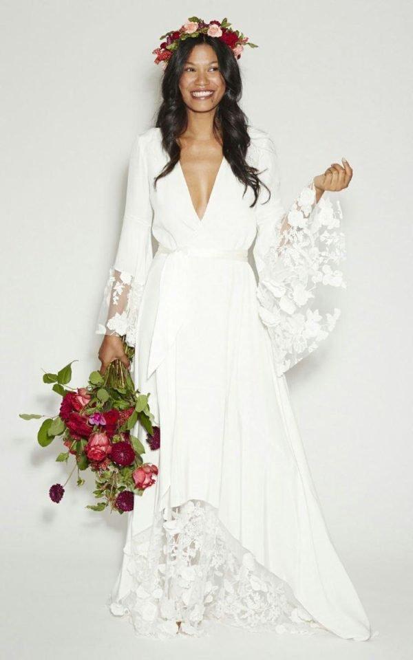 vestidos-de-novia-hippies-mangas-largas