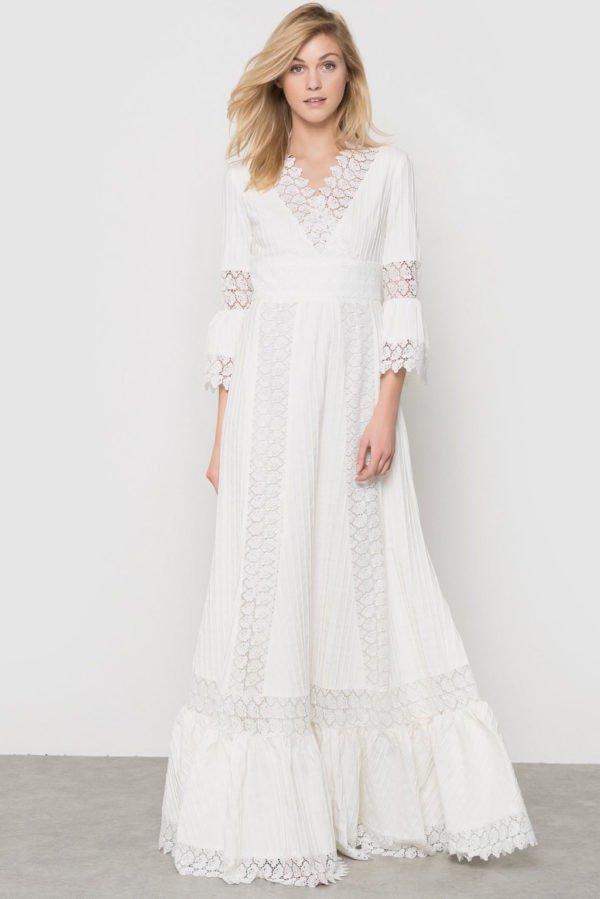 Vestidos largos hippies para bodas