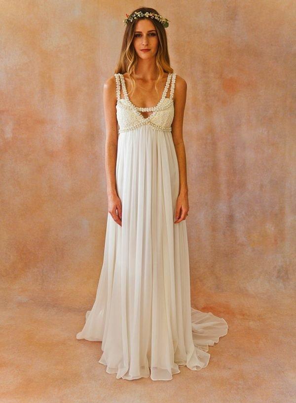 Matrimonio Bohemien Moda : Vestidos de novia hippies tendenzias