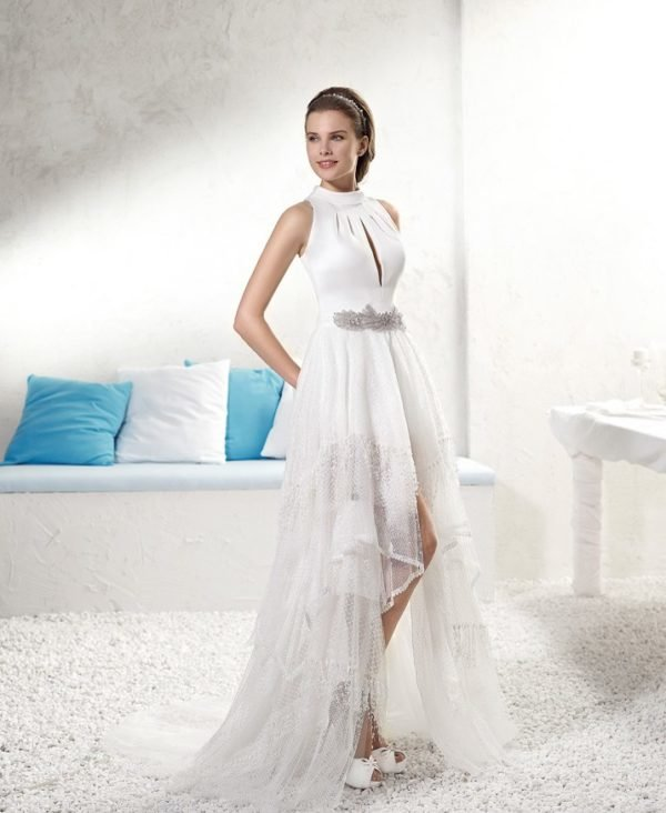 vestidos de novia ibicencos primavera verano 2019 - tendenzias
