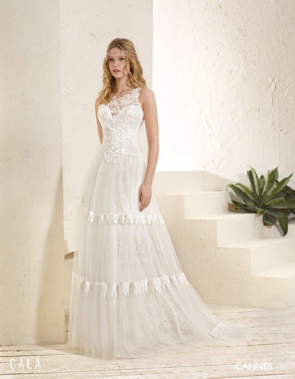 Vestidos de boda estilo ibicenco