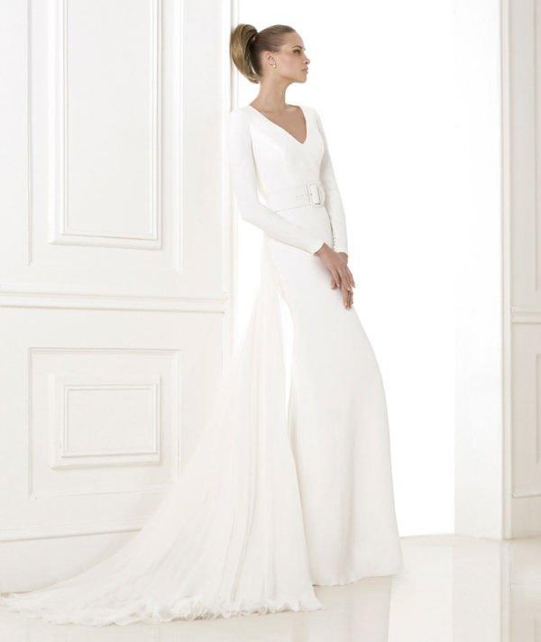 vestidos-de-novia-manga-larga-entero-sencillo
