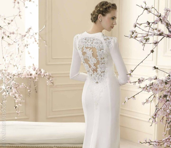 Imagenes vestidos de novia manga larga