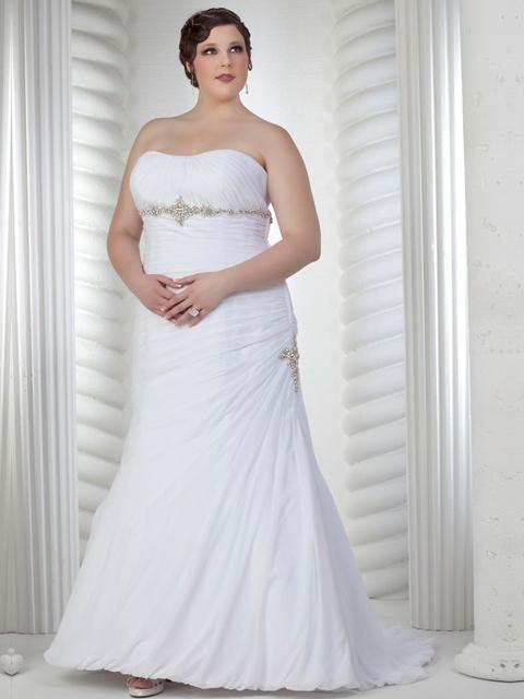 Vestido de novia grande