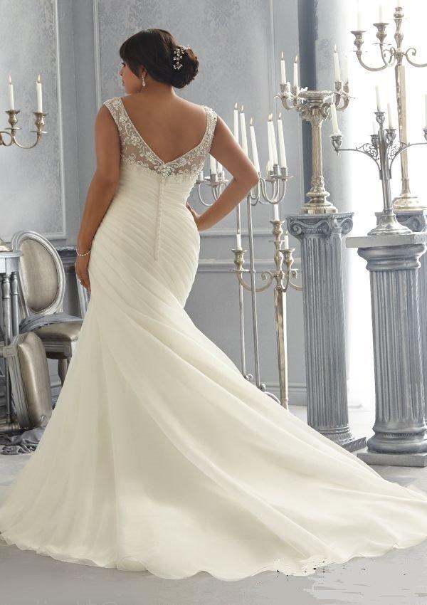 Vestidos de novia rellenitas 2019