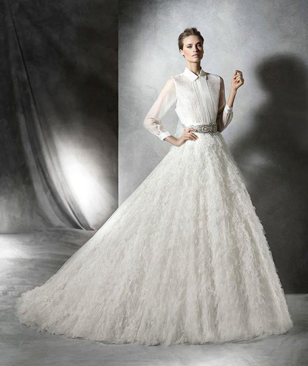 vestidos-de-novia-pronovias-PLEASURE