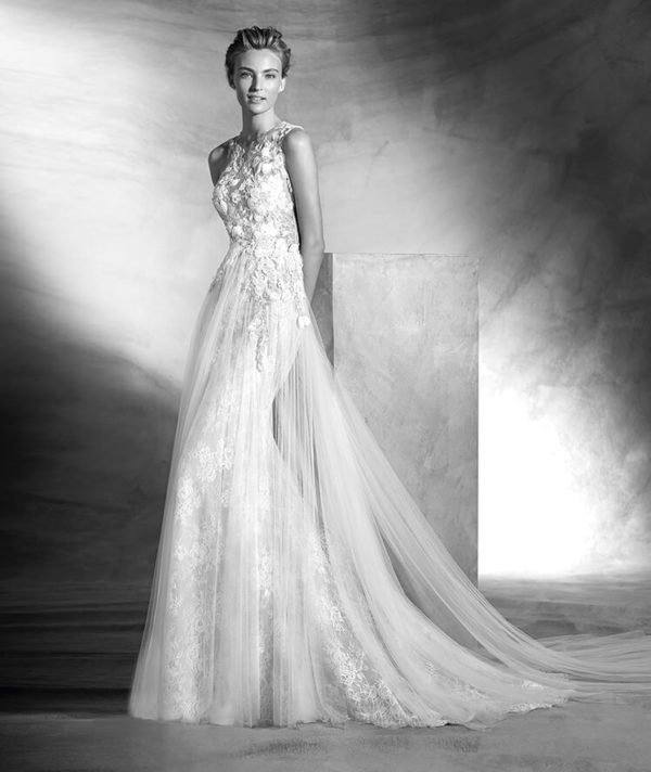 vestidos-de-novia-pronovias-otono-invierno-2017-brodado-y-tul