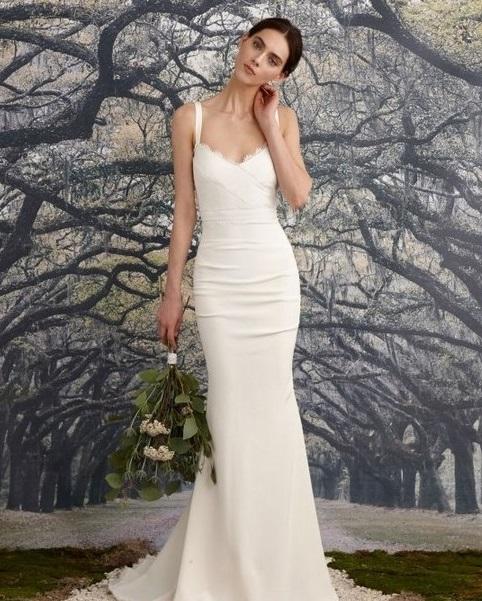 Vestidos de novia hermosos y sencillos