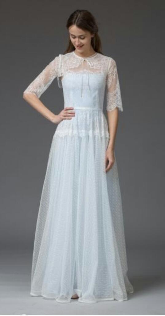 vestidos-de-novia-vintage-azul