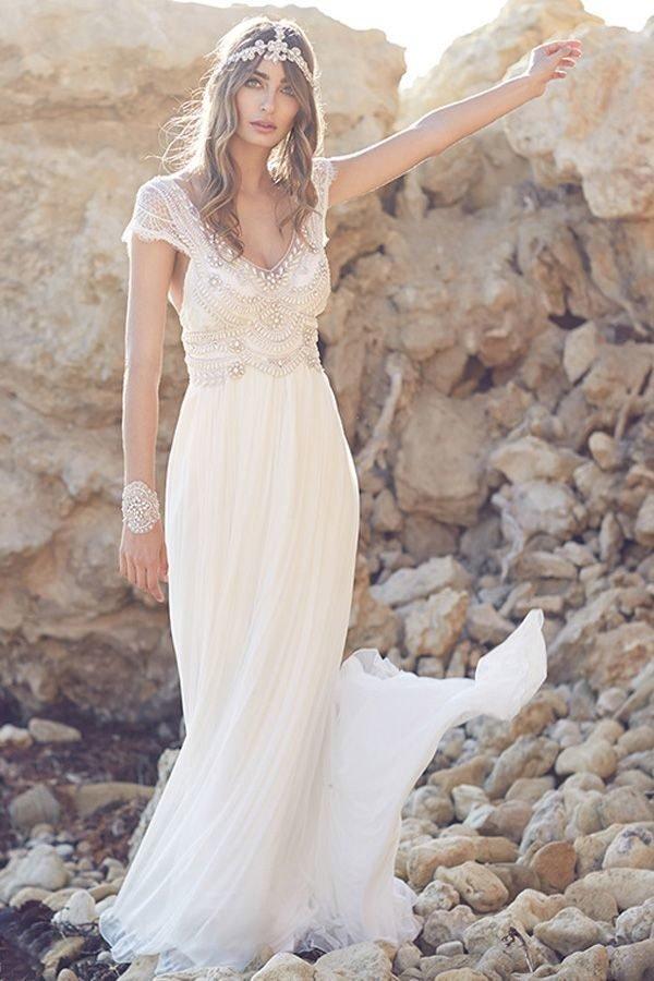 Vestidos de novia vintage Primavera Verano 2018 - Tendenzias.com