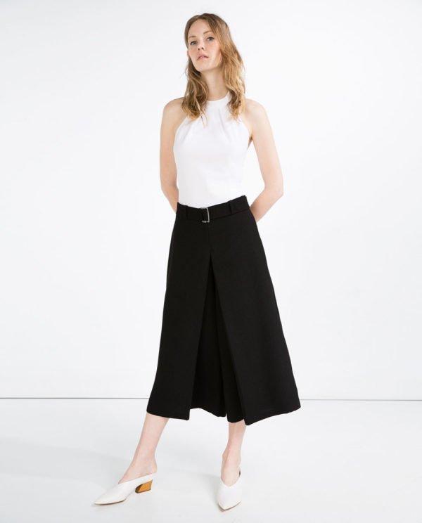 zara-pantalones-falda-pantalon-hebilla