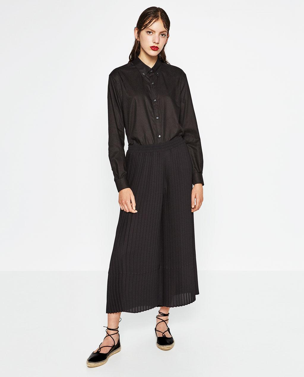 2aaf0f7d86 Catálogo de pantalones de Zara para mujer Primavera Verano 2019 -  Tendenzias.com